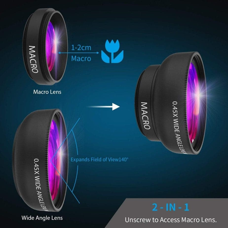 The Top Clip-On Lenses