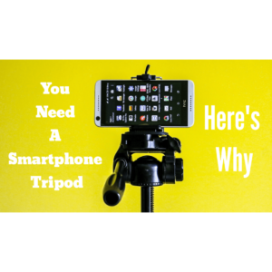 Smartphone Tripod for travel photography