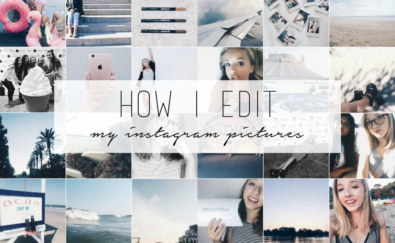 How to edit Instagram pictures