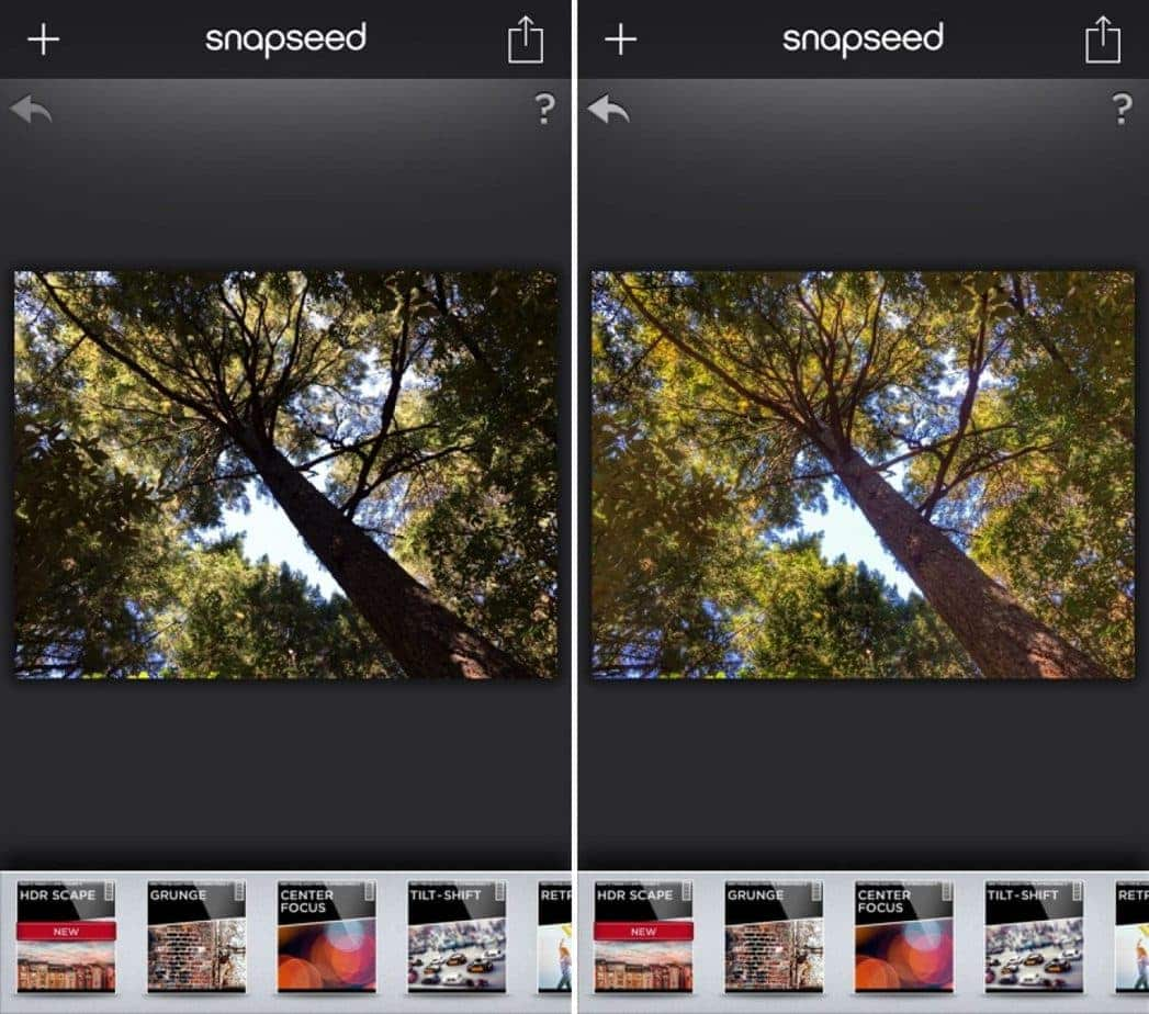 Best Apps for Instagram Snapseed