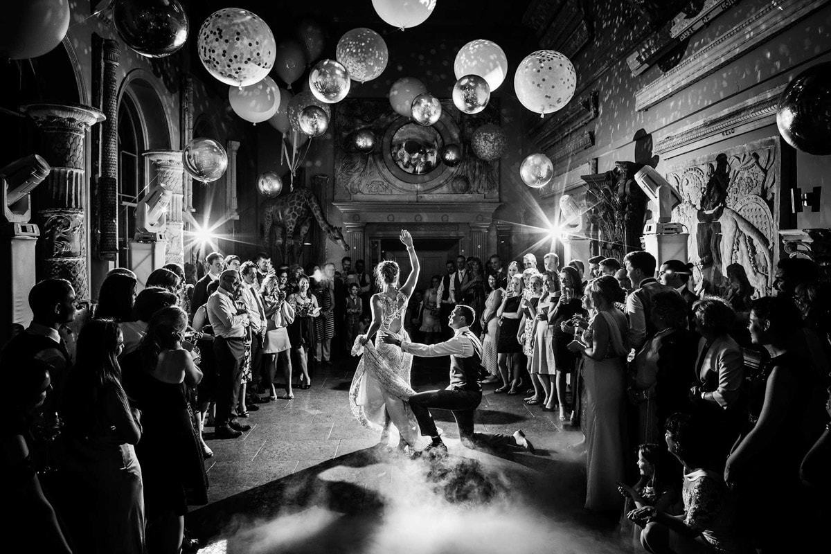 Dance floor photography