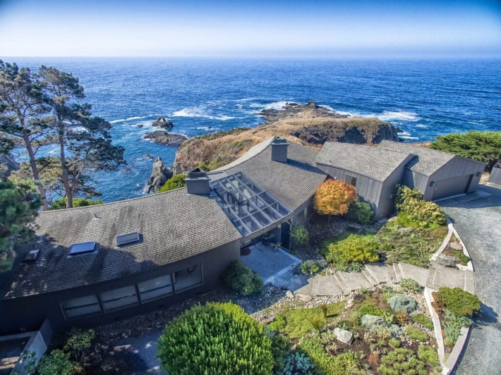 drone exterior real estate photography