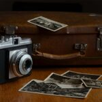 pictures of cameras with old photographs