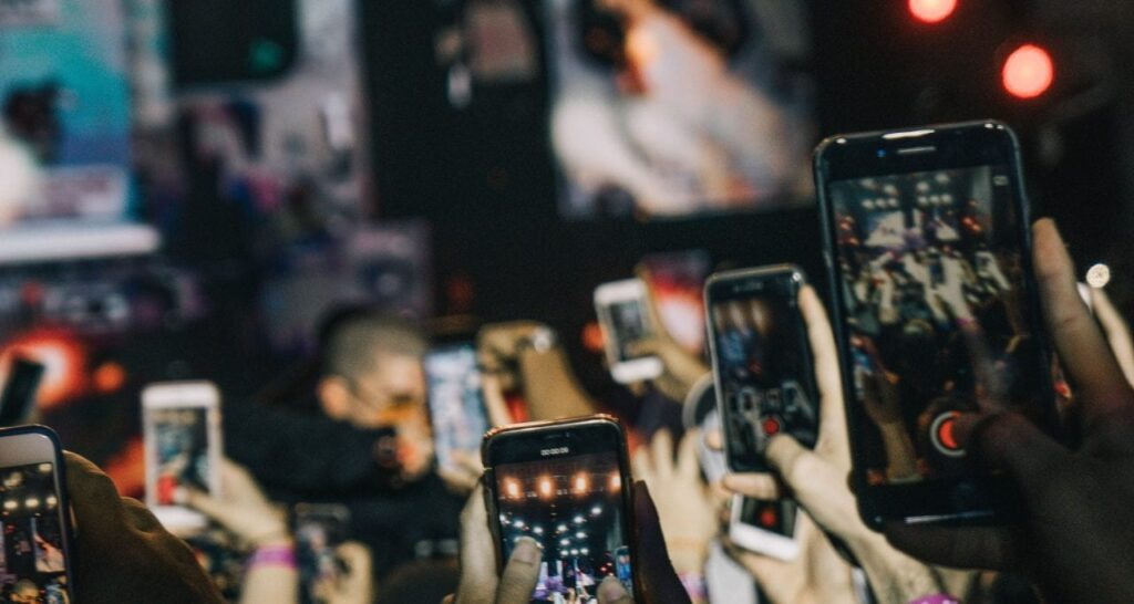 event photography on your smartphone