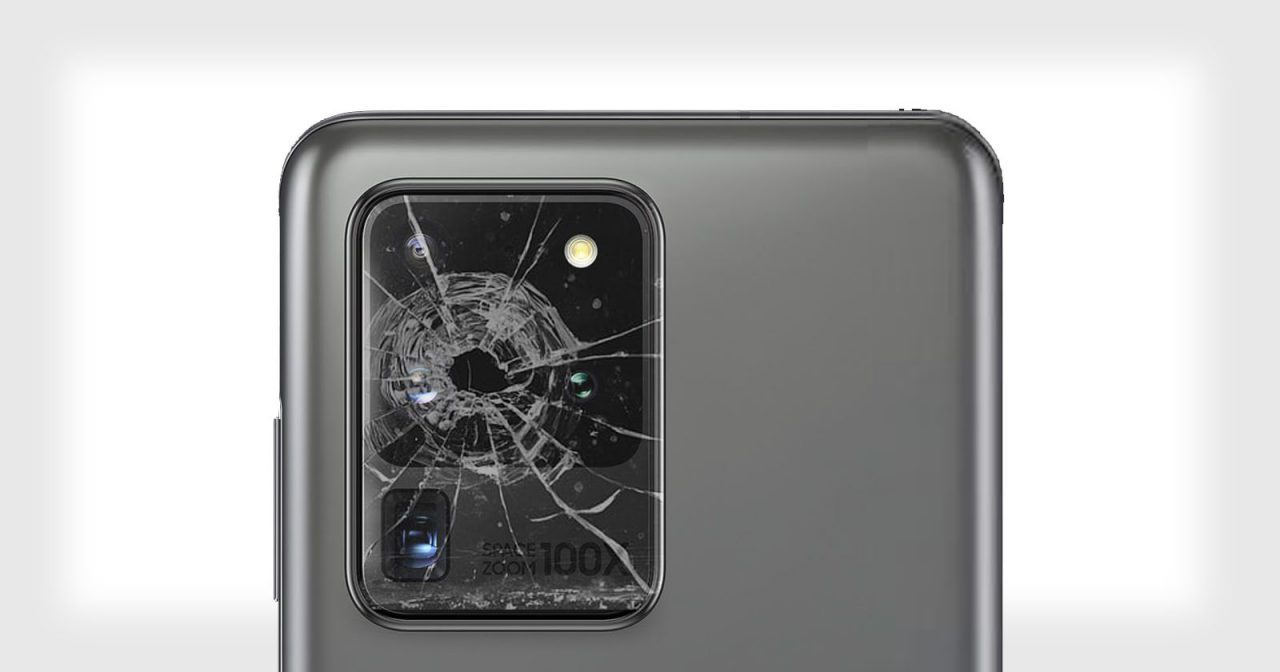 how to fix phone camera lens scratches and breaks
