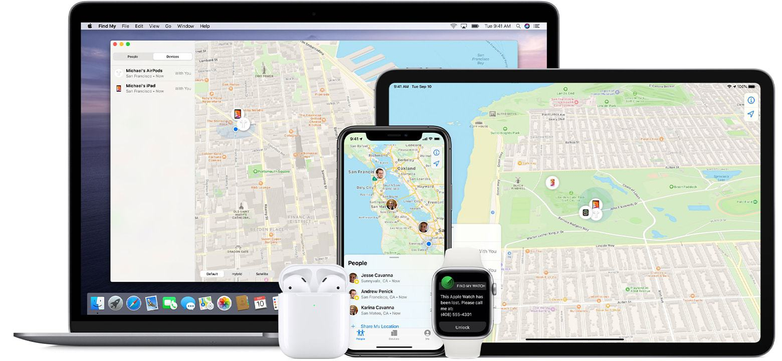 Using Find My Phone Feature iPhone and Android