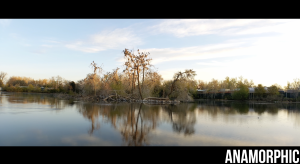 Moment 1.33x Blue Flare Anamorphic Lens on Google Pixel 4a with 5G